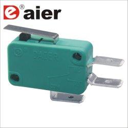 La palanca de sensibles de 3 pines Micro interruptor eléctrico Kw1-103