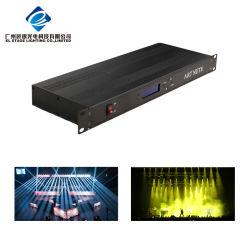 وحدة الإضاءة Artnet 8 DMX توسع المخرجات إلى 4096 DMX قنوات الكمبيوتر عبر الإنترنت