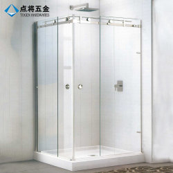 Accessoires personnalisés Frameless salle de douche avec un design moderne
