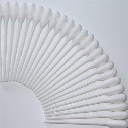 """4"""" plástico Stick única cabeza Medical hisopos de algodón/yemas/aplicadores"""