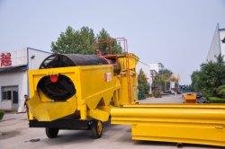 Mobile Areia Aluviais Placer Gold de transformação do diamante equipamento de lavagem