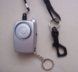 LED 빛/Keychain-Giftshine를 가진 최고 소형 개인적인 안전 경보