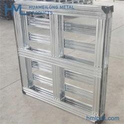 Fabricante de China el Estándar Europeo barata para el transporte de palets de hierro galvanizado