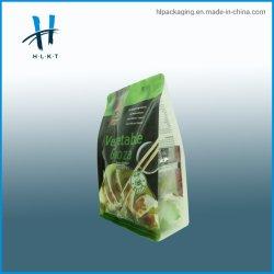 Cremallera Bio-Degradable Stand up bolsa de plástico envases de alimentos