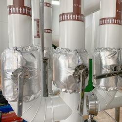MineralWool+Cryogel materieller Vaseline-Isolierungs-Deckel für Kugel-Tal