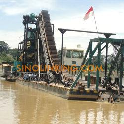 Separação de gravidade Gold Draga Escavação Barco de dragagem de ouro para venda