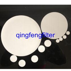 PTFE hidrófobo/PP/Pvtf/náilon/Pes membrana do filtro de Disco para filtração de gás