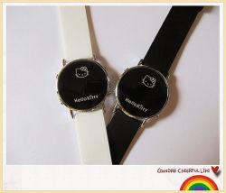 بيضاء أسود [لد] [ديجتل] ساعة
