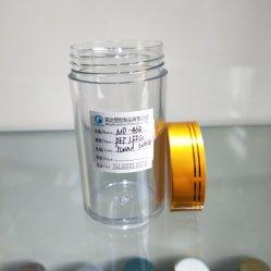 MD-464 Pet plastique HDPE 150ml Bouteille ronde Jar pour Capsule/pilule/cosmétiques pharmaceutique