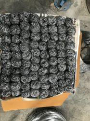 Het bulk het Schuren van de Keuken Stootkussen/Schuursponsje van de Spons van de Draad van het Roestvrij staal met Biologisch afbreekbaar Pakket