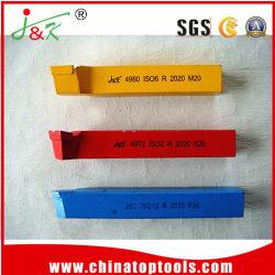 (DIN 4975-ISO10)ひっくり返されたツールビットを回す炭化物の旋盤