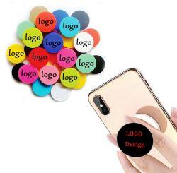Commerce de gros logo personnalisé personnalisé gratuit Prise de téléphone cellulaire Desktop Support de poignée