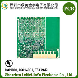 Gedrucktes Leiterplatte-MikroBasisstation Schaltkarte-Vorstand Enig-10L