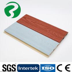 정원 Use-100*16 벽면을%s 옥외 옥외 나무 플라스틱 합성 인조벽판은 CO 내밀었다