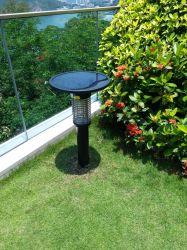 Indicatore luminoso repellente del giardino di Zapper del LED dei parassiti della zanzara solare esterna di controllo