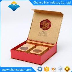 Custom magnétique Boîte en carton en forme de livre des produits de santé