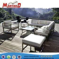 Insieme esterno del sofà del PVC di disegno moderno della mobilia impermeabile del giardino