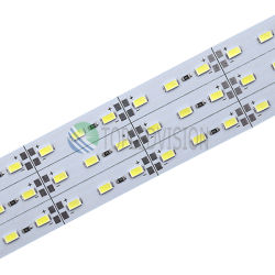 SMD5630 PCB de aluminio / 5730 tira LED rígida para iluminación de la decoración