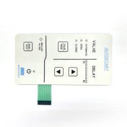 Высокое качество водонепроницаемый телевизор с плоским Non-Tactile мембранный переключатель клавиатуры панели управления/клавиатуры
