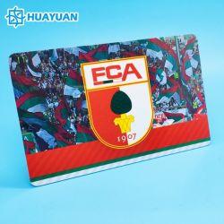 Бесплатные образцы офсетной печати пластиковые NFC NTAG213 PVC карт RFID