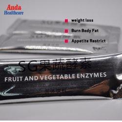 Охране здоровья питание потеря веса мгновенного напитки похудение фрукты и овощи фермента композитный питьевой порошок