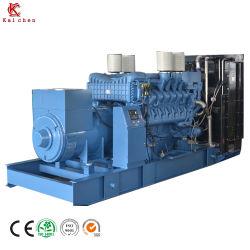 中国Suppiler 900kw /1125kVA力、無声Mtuのディーゼル発電機セット