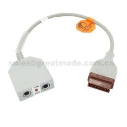 GE compatible Dual Channel, adaptateur de température de l'accepter YSI 400 et 700 series probe