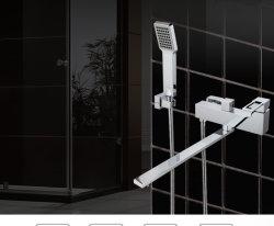 Haute qualité robinet Mélangeur de baignoire carrée (TF-3003)