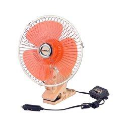 Chargeur de véhicule 12 V CC ventouse supérieure auto voiture ventilateur électrique
