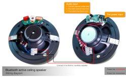 Bluetooth drahtloser Lautsprecher-weltweiter Handy-Lautsprecher der Decken-15W