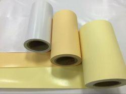 Haut fait la promotion de la marque de papier Kraft jaune