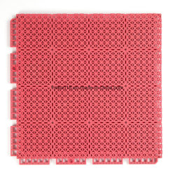 Het rubber Modulaire Tapijt van de Mat van de Vloer van het Hof van het Badminton van Tegels