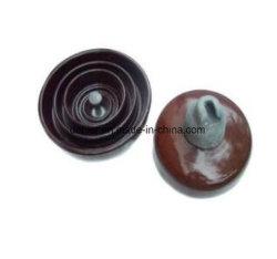 Suspensión Disc-Shaped Bell-Type doble aislante de porcelana porcelana Insulato Umbrella-Shaped