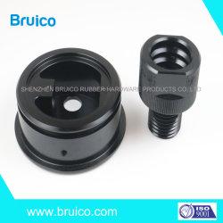 Piezas de mecanizado CNC no estándar de aluminio Custom caza prismáticos/cámara