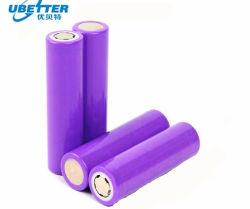 Литиевая батарея полной емкости размера 18650 3,7В 2000Мач мощности хранения энергии с бис сертификат