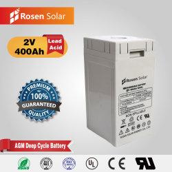 Großhandel Custom Superior Qualität Blei Säure Batterie 2V 400ah AGM Batterie