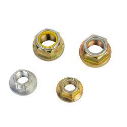 육 플랜지 Nuts 육 견과 육각형 견과 바퀴 Nuts 기관자전차 Accessorles는 자동 DIN6923 DIN74361 아연 크롬을 분해한다