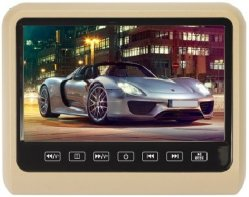 """7.5 """" écran large écran LCD pour appui-tête de voiture ou utilisation autonome"""