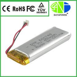 Fabricant d'alimentation 3,7 V 450mAh Li polymère rechargeable Batterie E cigarette