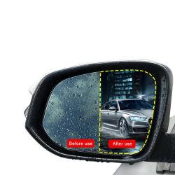 2pcs Nano Coche Rainproof Recubrimiento anti niebla espejo retrovisor de la película protectora de la ventana