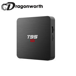 Android TV Box canaux vidéo Full HD 1080p Android TV Box T95S2 S905W 1g 8g Android TV Box DVB USB Flash TV Box