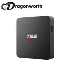 Android Market canais da caixa do televisor Full HD 1080P CAIXA DE TV Android vídeo T95s2 S905W 1g 8G caixa de TV Android DVB Caixa de TV USB Flash
