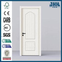 Du grain du bois moulé en PVC moulé HDF Swing porte armoire de cuisine (JHK-P18)