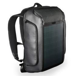 Energia solar de ressalto duplo de viagens de negócios Laptop Tablet PC Notebook iPad Pack Mochila Saco caminho com USB (CY5819)