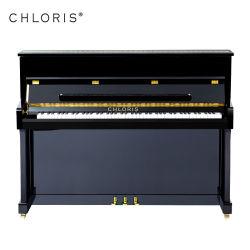 楽器のChlorisの黒88の主アップライトピアノHu110cm