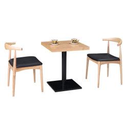 De moderne Stevige Houten Stoelen van het Meubilair en van het Restaurant van de Lijsten van het Restaurant van de Koffie