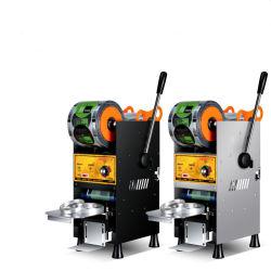 De de hand Verzegelende Machine van de Kop van de Thee van de Bel en Verzegelaar van de Kop voor de Melk Bobo Tea Cups van het Sap