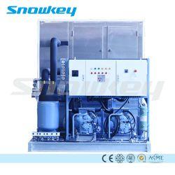 ماكينة ثلج ذات معدل تعطل منخفض متينة من Snowkey لأفريقيا آسيا
