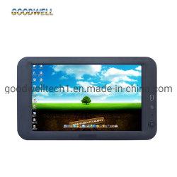 La pequeña pantalla LCD táctil de supervisar el sistema operativo Win CE 6.0 de 7 pulgadas de PC todo en uno para el sistema de automatización