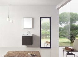 Qualitäts-Badezimmer-Schrank-Badezimmer-Möbel-Badezimmer-Eitelkeits-Eitelkeits-Gerät Morden Art-Schrank